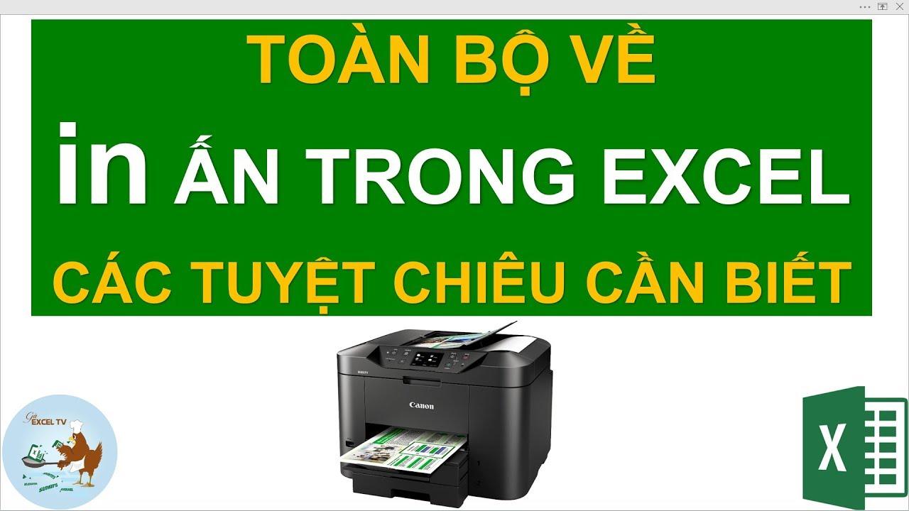 In ấn trong Excel   Các thủ thuật bạn cần biết