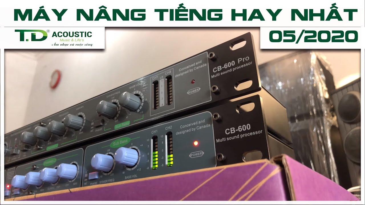 Hàng về  bộ đôi máy nâng tiếng TDacoustic CB600 , CB600pro bản mới nhất 10/Q5/2020