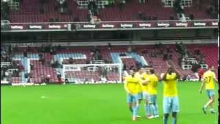 Video Gol Pertandingan West Ham United vs Crystal Palace