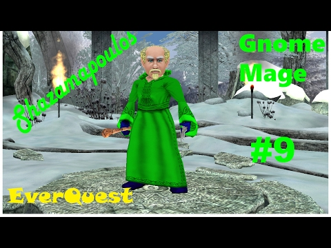 EverQuest: Gnome Mage  level 19-20  playthrough (the grind) #9