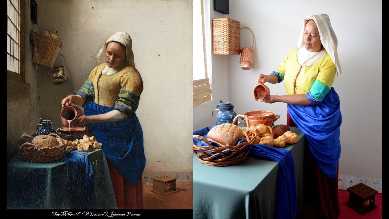 making of a leiteira de vermeer   youtube