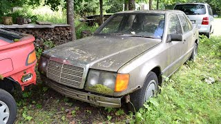 Starting 1988 Mercedes-Benz w124 200D After 16 Years