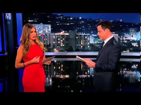 Sofia Vergara slaps Jimmy Kimmel on US TV