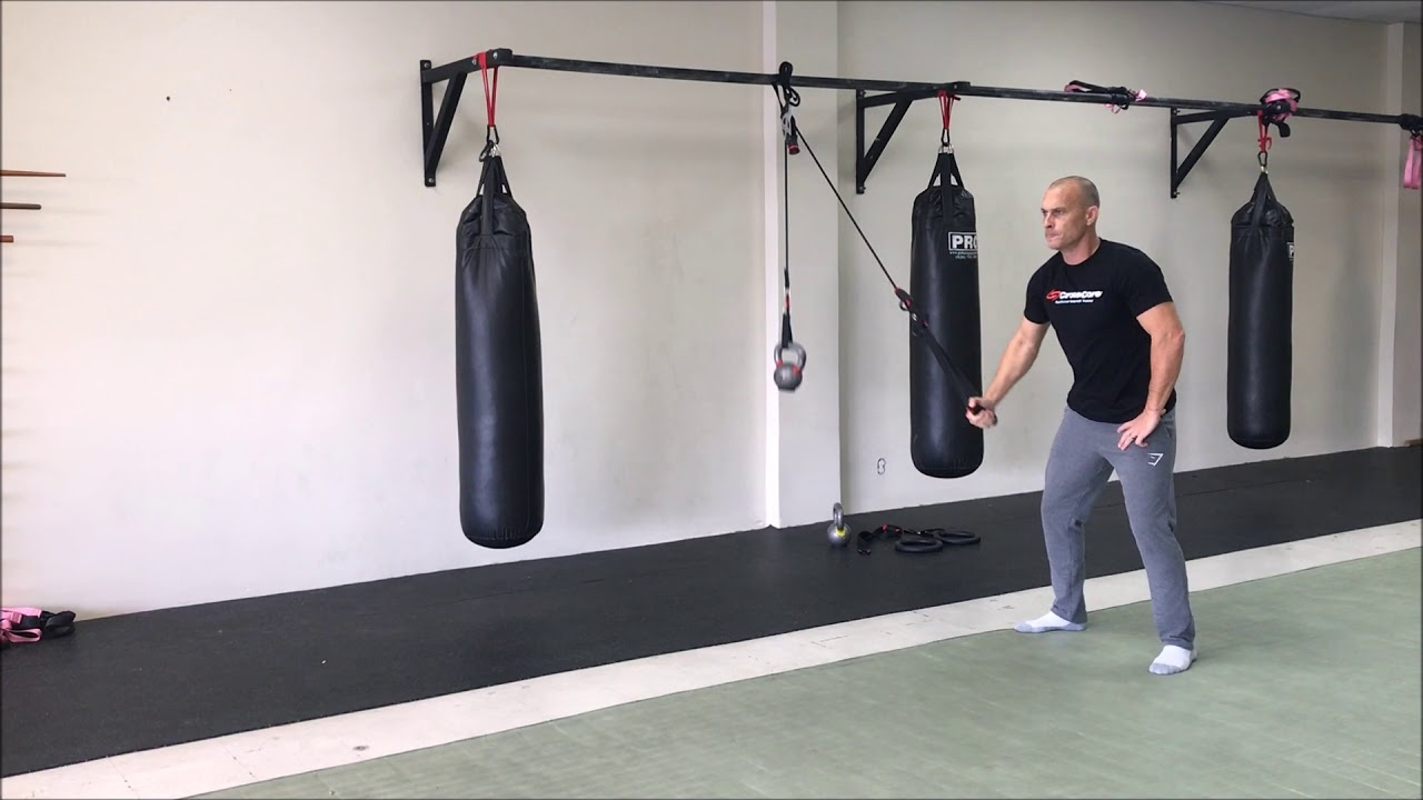 CrossCore living weight with Kettle Bells