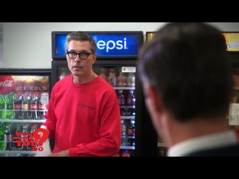 Man Is Shamed For Working At Grocery Store | What Would You Do? | WWYD