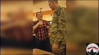 Возвращение солдат домой. Реакция родных.