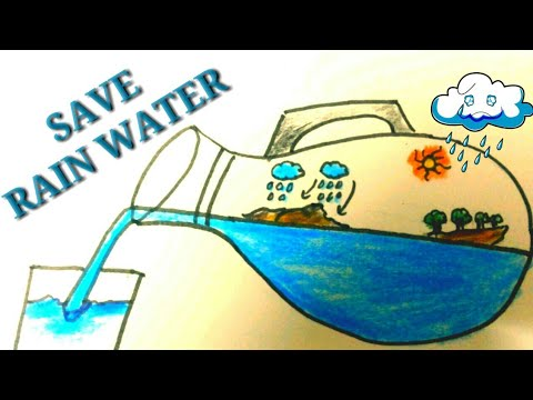 DRAWING ON SAVE WATER    SAVE LIFE