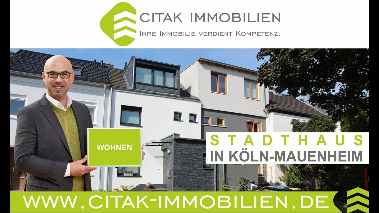 Citak Immobilien reihenhaus stadthaus in köln mauenheim citak immobilien im kölner