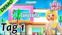 PLAYMOBIL LUXUSVILLA Spiel für iOS & Android - Wir ziehen in das große Playmobil Haus - Tag 1