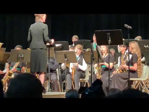 Daniel Morgan Middle School Jazz Band