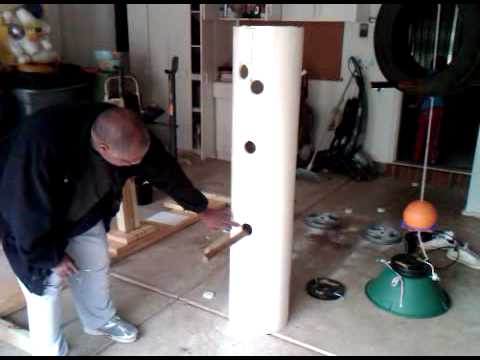 Building A Wing Chun Dummy Part 1 Youtube