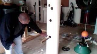 Building A Wing Chun Dummy Part 1.