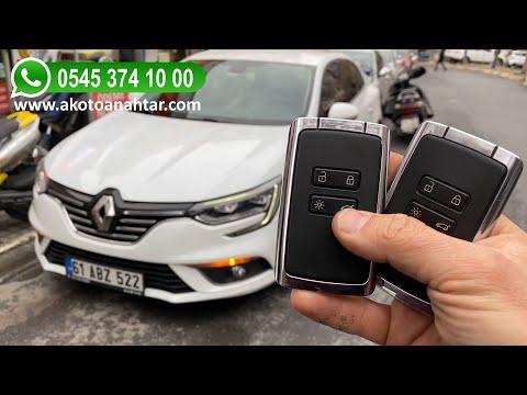 Renault Megane 4 Anahtar Yapımı   Yedek Kopyalama - Oto Anahtarcı İstanbul