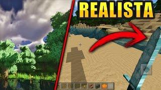 Las 3 mejores texturas realistas para minecraft pe 1.1 | top 3 shaders realistas para mcpe 1.1