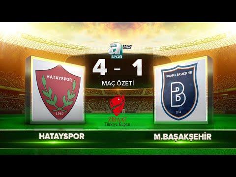 Hatayspor 4-1 Medipol Başakşehir | Maç Özeti