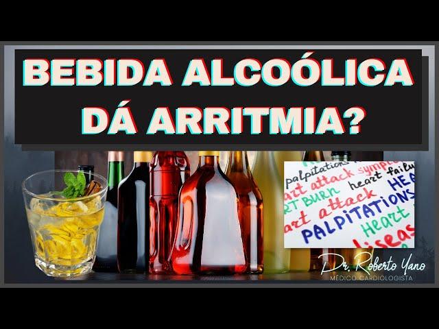 Bebida alcoólica da arrtimia? A bebida pode estar associado a arritmia?