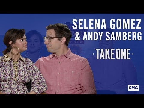 Selena Gomez & Andy Samberg - Take One on Hotel Transylvania 3