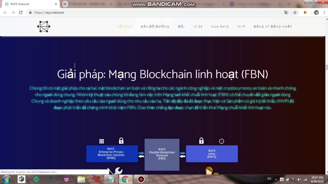 RAYS NETWORK - A Brand New Blockchain Technology