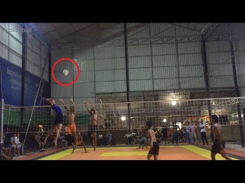 Best Cambodia Volleyball Match, Top Spike Ball Killers(3 Vs 4) Part#135