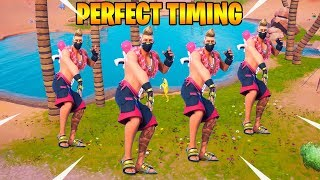 FORTNITE PERFECT TIMING Best Moments #16