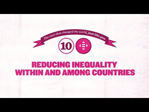 Sustainable Development Goal 10 - Reducing inequality within and among countries