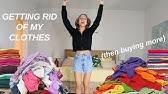 CLEANING OUT MY CLOSET *EXTREME*