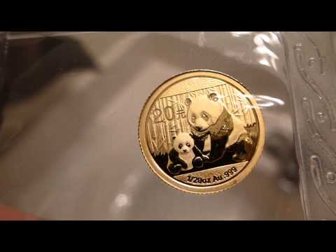 2012 1/20th oz. Gold Chinese Panda (Sealed) Coin Review & Opinion