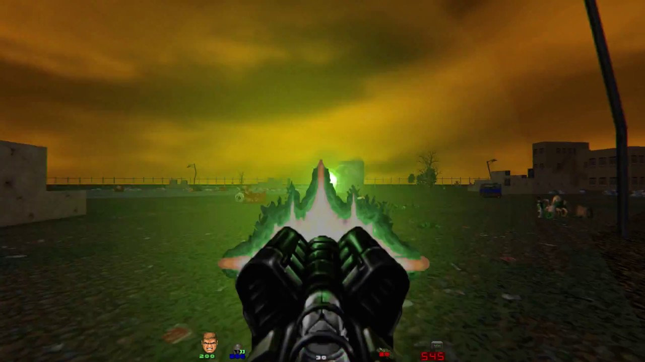 Brutal Doom v21 Beta Test Map (New Features)