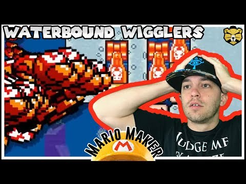 Underwater Attack On Wiggler! Mario Maker
