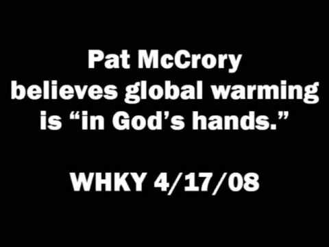 "Pat McCrory believes global warming is ""in God's hands"""