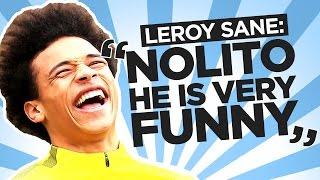 Funniest team-mates & the club dj! | leroy sane | quickfire q&a