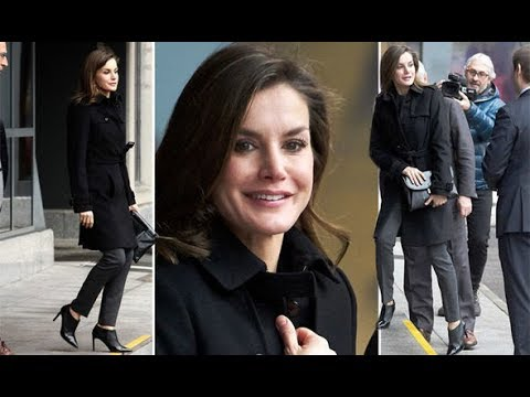 Queen Letizia news: Spanish royal shows off sexy boots during charity visit in Spain