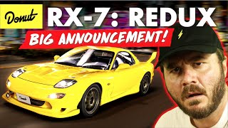 MAZDA RX-7 - Everything You Need To Know (and SPECIAL ANNOUNCEMENT) | Up To Speed