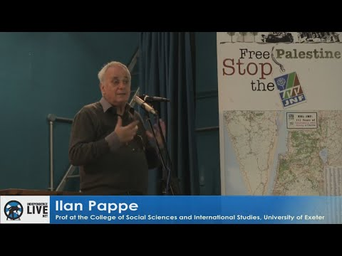 Ilan Pappe -  Settler Colonialism in Palestine 2016 Conference