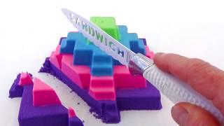 Красивая Пирамида Учим цвета Бабушкины Сказки