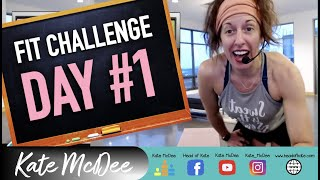 Day #1 Intro To Piyo Fitness Challenge W/Kate McDee (Join Me For FULL Piyo Workouts LIVE Each Week)