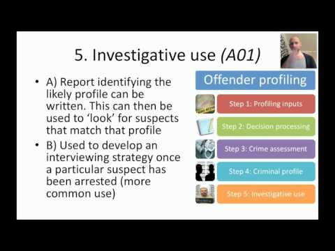 AQA Foresic Lesson 1 Top Down profiling - YouTube