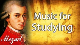 Mozart Classical Music For Studying, Concentration