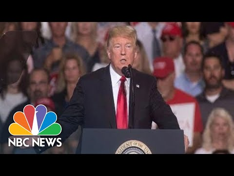 President Donald Trump Campaigns For Ted Cruz At Texas Rally | NBC News