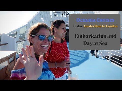 Oceania Cruises Vacation Amsterdam to London Embarkation and Day At Sea 2018