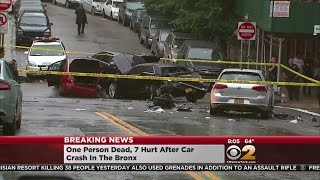 Fatal Car Crash In Bronx