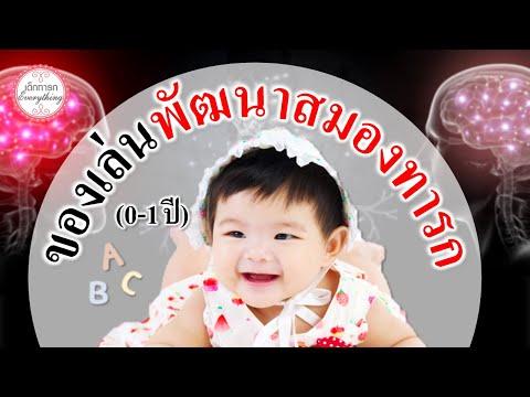 พัฒนาการทารก : ของเล่นพัฒนาสมองทารกในแต่ละวัย (0-1ปี) | ของเล่นเสริมพัฒนาการ | เด็กทารก Everything