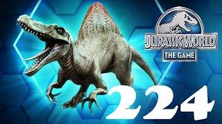 Шоу Арены Спинозавр Jurassic World The Game прохождение на русском 224