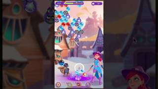 Level 42 at Bubble Witch Saga 3 - played 13/01/2017 Bubble Witch Sa...