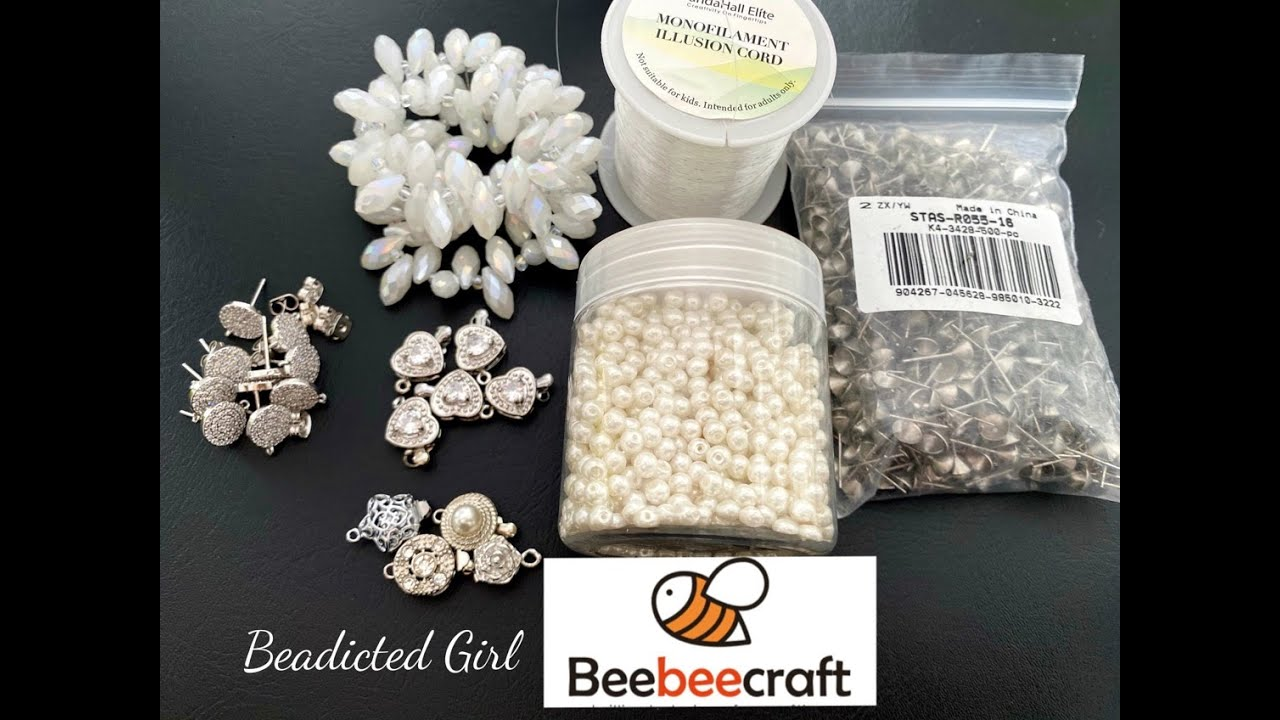 Beebeecraft Unboxing Beadicted Girl || Bead haul || $5 Coupon code Beadicted5