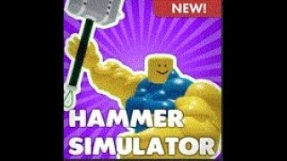 NEW hammer simulator (ROBLOX)/ Izan_gameYT
