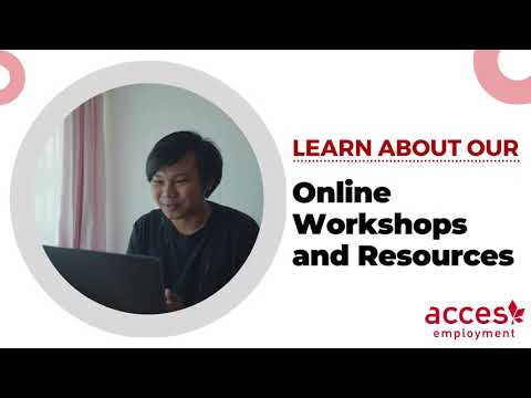 Online Services and Workshops at ACCES