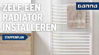 Radiator loskoppelen en installeren - Klustips | GAMMA België