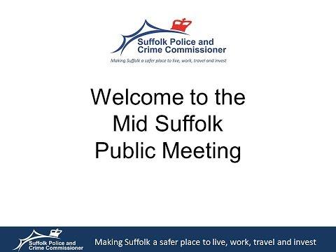Suffolk PCC & Chief Constable Tour 2015 - Eye