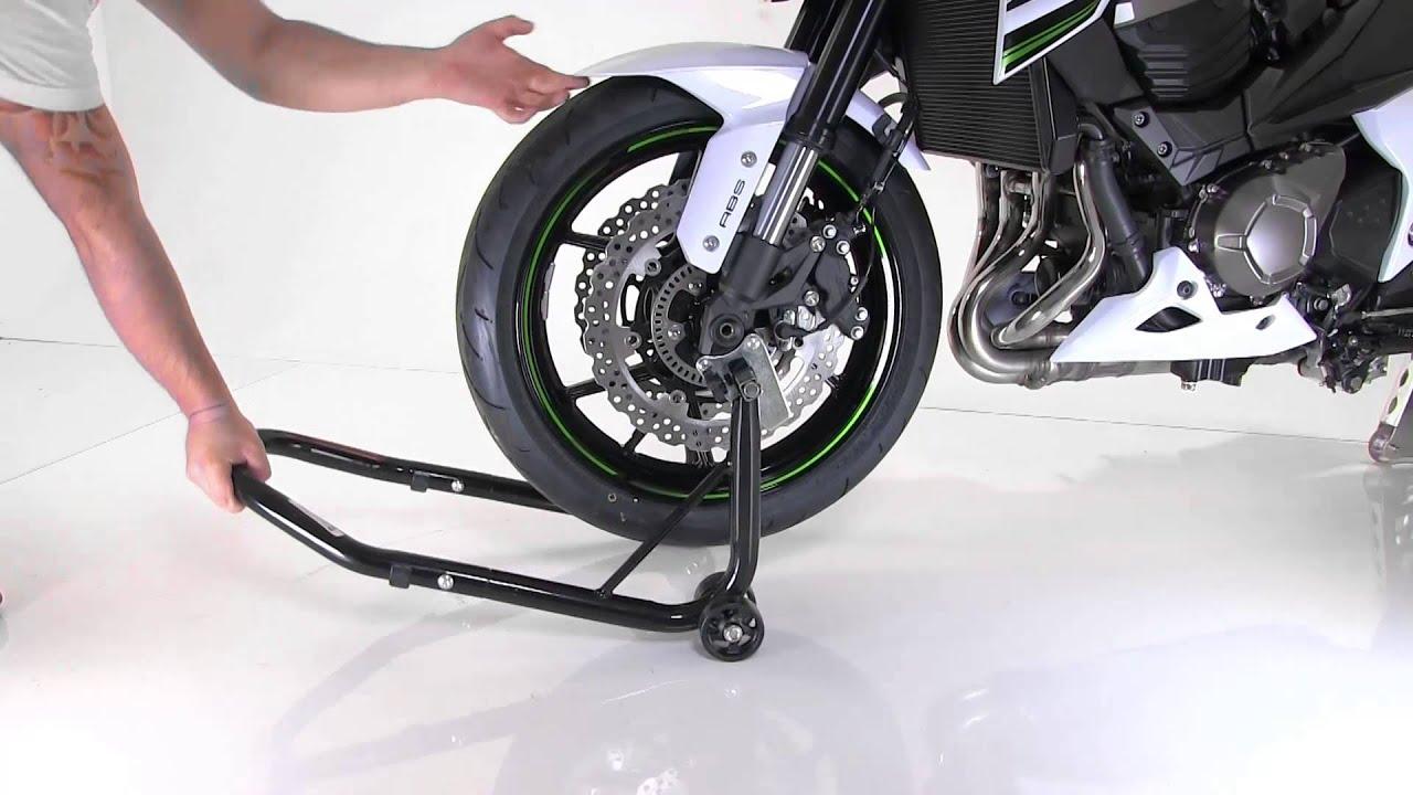 Instrucciones Caballete Moto Delantero Constands S